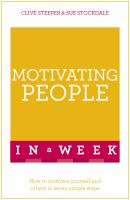 Motivating People in A Week