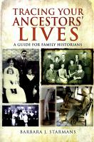 Tracing your Ancestors' Lives