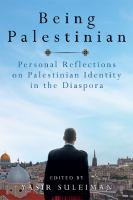 Being Palestinian