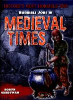 Horrible Jobs in Medieval Times