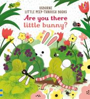 ARE YOU THERE LITTLE BUNNY [board Book]