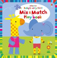 Baby's Very First Mix & Match Playbook