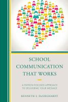 School Communication That Works
