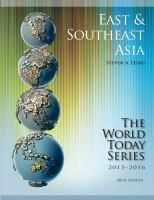East & Southeast Asia