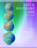 East And Southeast Asia (2016-2017)