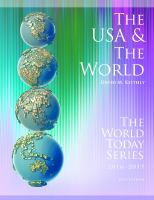 The USA & The World