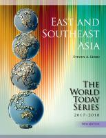 East & Southeast Asia 2017-2018
