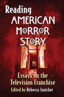 Reading American Horror Story