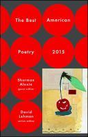 The Best American Poetry, 2015