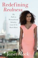 Cover of Redefining Realness: My pa