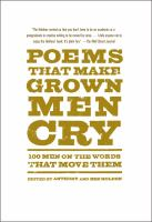 Poems That Make Grown Men Cry