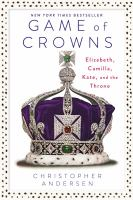 Cover of Game of Crowns: Elizabeth,