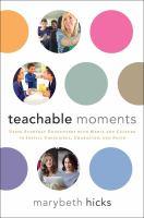 Teachable Moments