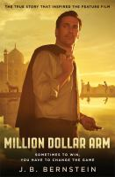 The Million Dollar Arm by JB Bernstein