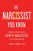The Narcissist You Know