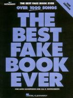 The Best Fake Book Ever : E-Flat Edition