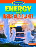 Energy From Inside Our Planet