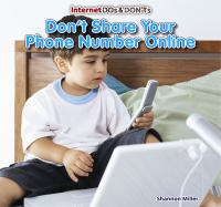 Don't Share your Phone Number Online