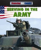 Serving in the Army