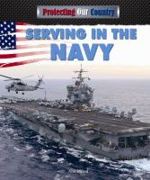 Serving in the Navy