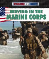 Serving in the Marine Corps