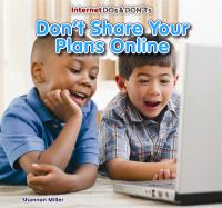 Don't Share your Plans Online
