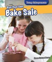 Run your Own Bake Sale