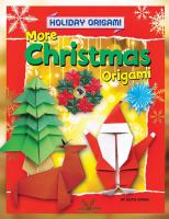 More Christmas Origami