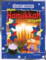 More Hanukkah Origami