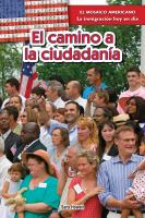 El camino a la ciudadanía (the path to citizenship)