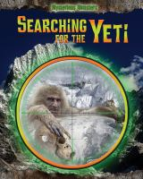Searching for the Yeti