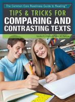 Tips & Tricks for Comparing and Contrasting Texts