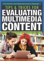 Tips & Tricks for Evaluating Multimedia Content