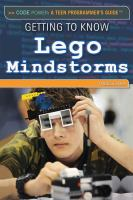Getting to Know Lego Mindstorms