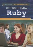 Getting to Know Ruby