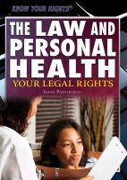 The Law and Personal Health