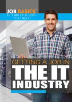 Getting A Job In The IT Industry