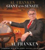Media Cover for Al Franken, Giant of the Senate [sound recording (CD)]