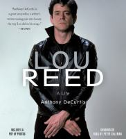 Lou Reed[unabridged Book on CD]