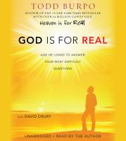 God Is for Real (CD)