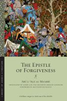 The Epistle of Forgiveness, or