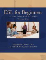 ESL for Beginners
