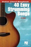 40 Easy Strumming Songs