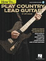 How To... Play Country Lead Guitar