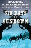Six Days to Sundown