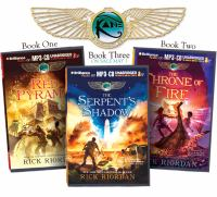 Rick Riordan's The Kane Chronicles : The Red Pyramid, The Throne Of Fire, The Serpent's Shadow [CD] *