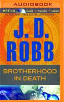 Brotherhood in Death(Unabridged,MP3-CD)