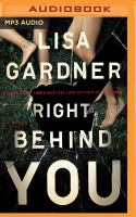 Right Behind You(Unabridged,MP3-CD)