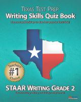Texas Test Prep Writing Workbook