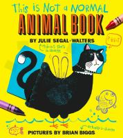This Is Not A Normal Animal Book